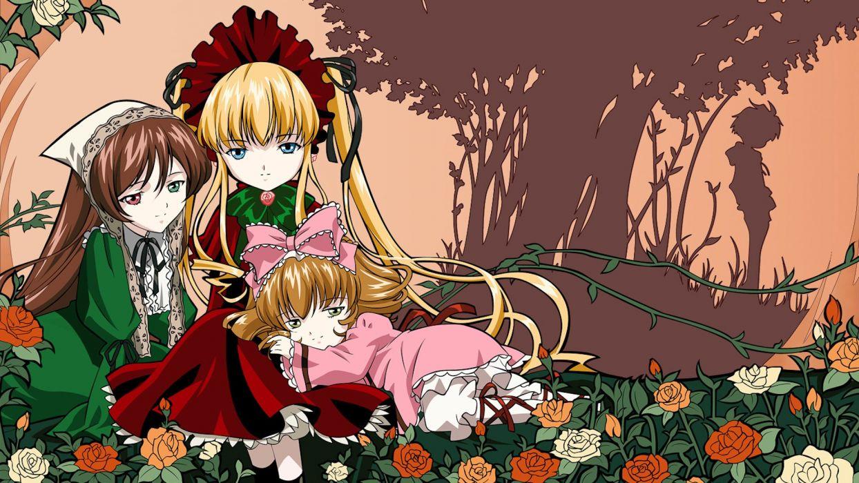 anime girl beautiful lovely happy girls beauty wallpaper