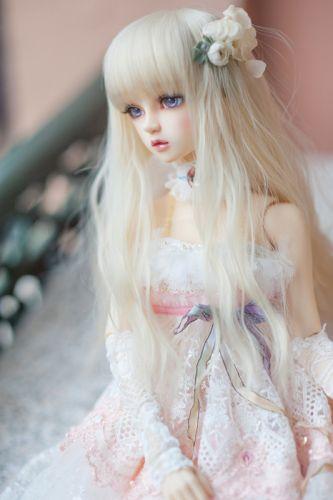 blond doll toys pretty long hair cute wallpaper
