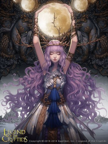 legend of the cryptids game beautiful girl wallpaper