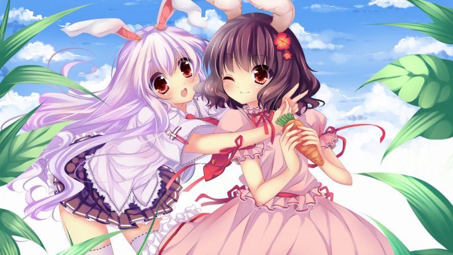 anime girl beautiful lovely cute happy girls wallpaper