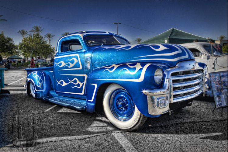 Street-Rod hot-rod custom-cars lo-rider vintage cars usa pick-up wallpaper
