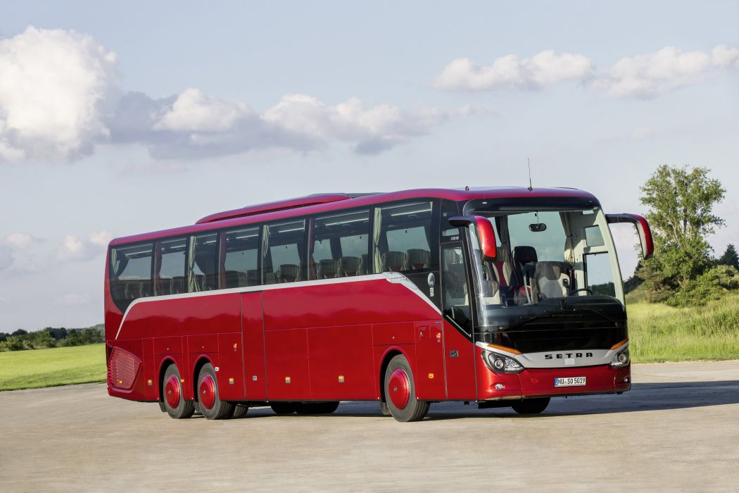 2014 Setra S 519 H-D bus transport semi tractor wallpaper