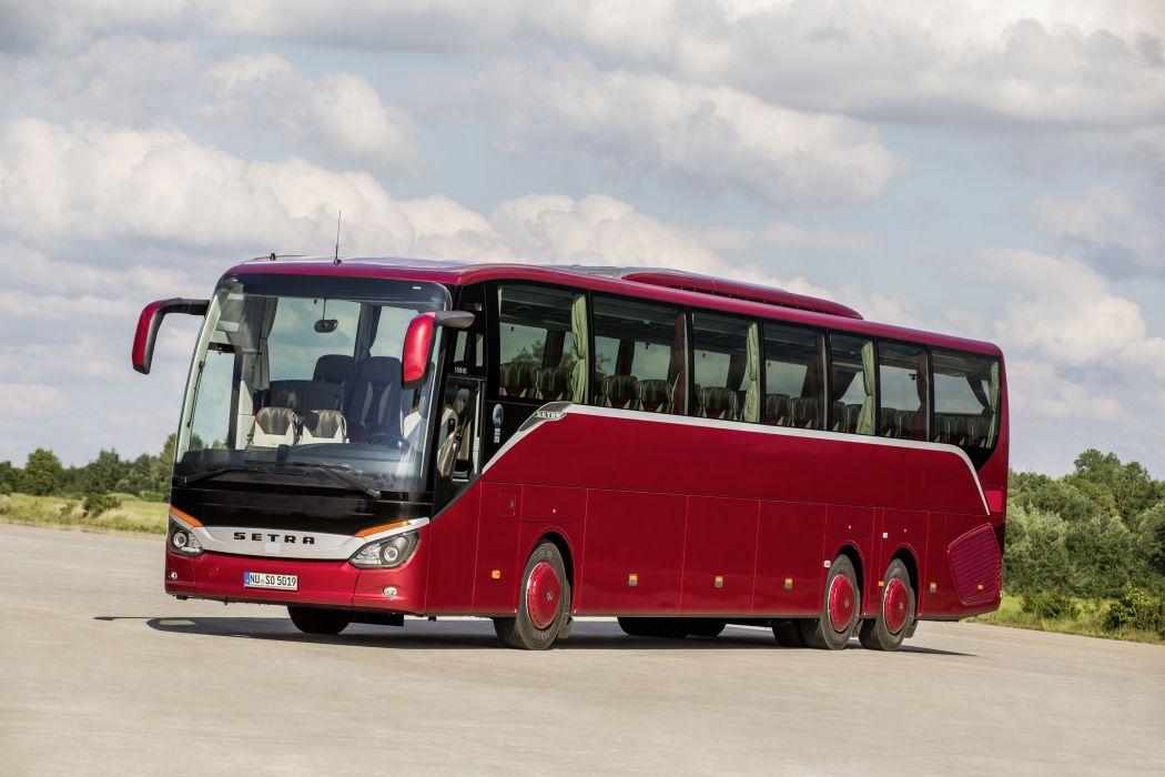 2014 Setra S 519 H-D bus transport semi tractor wallpaper