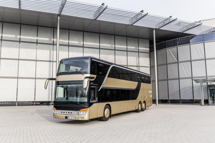 2014 Setra S 431 D-T bus transport semi tractor wallpaper
