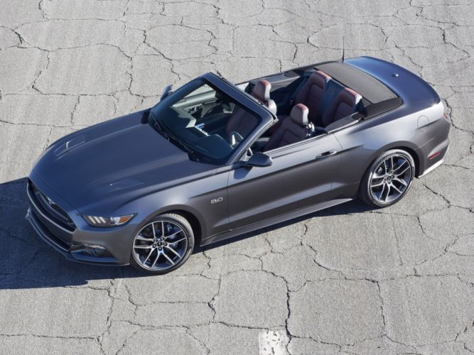 2015 Ford Mustang G-T Convertible muscle wallpaper