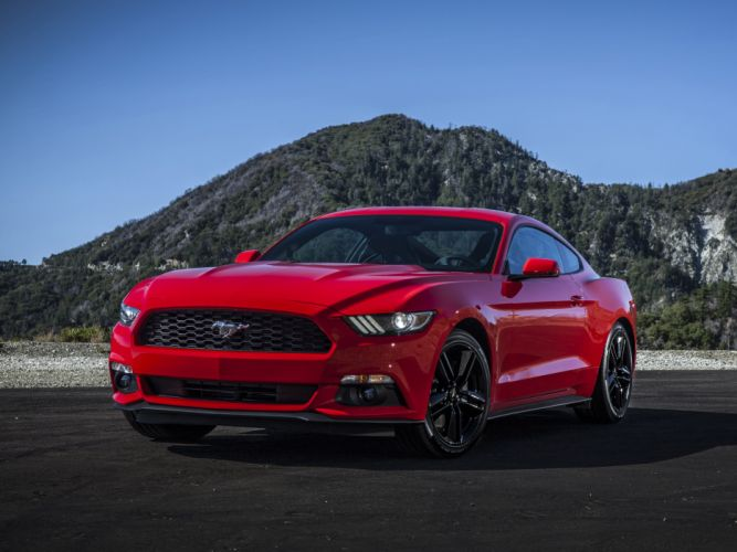 2015 Ford Mustang EcoBoost Coupe muscle wallpaper