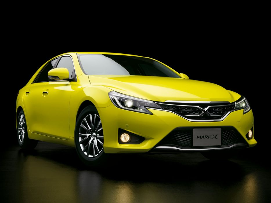 2014 Toyota Mark-X 250G S-Package Yellow-Label (GRX130) wallpaper