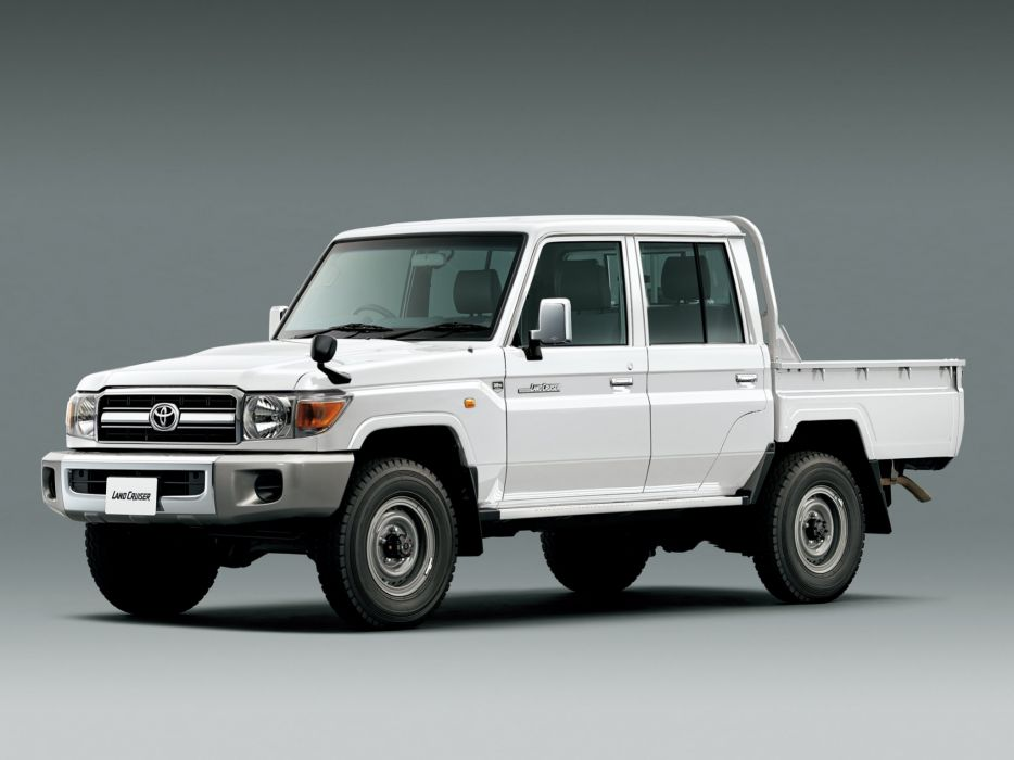 2015 Toyota Land Cruiser Pickup 30th-Anniversary JP-spec (GRJ79K) 4x4 wallpaper