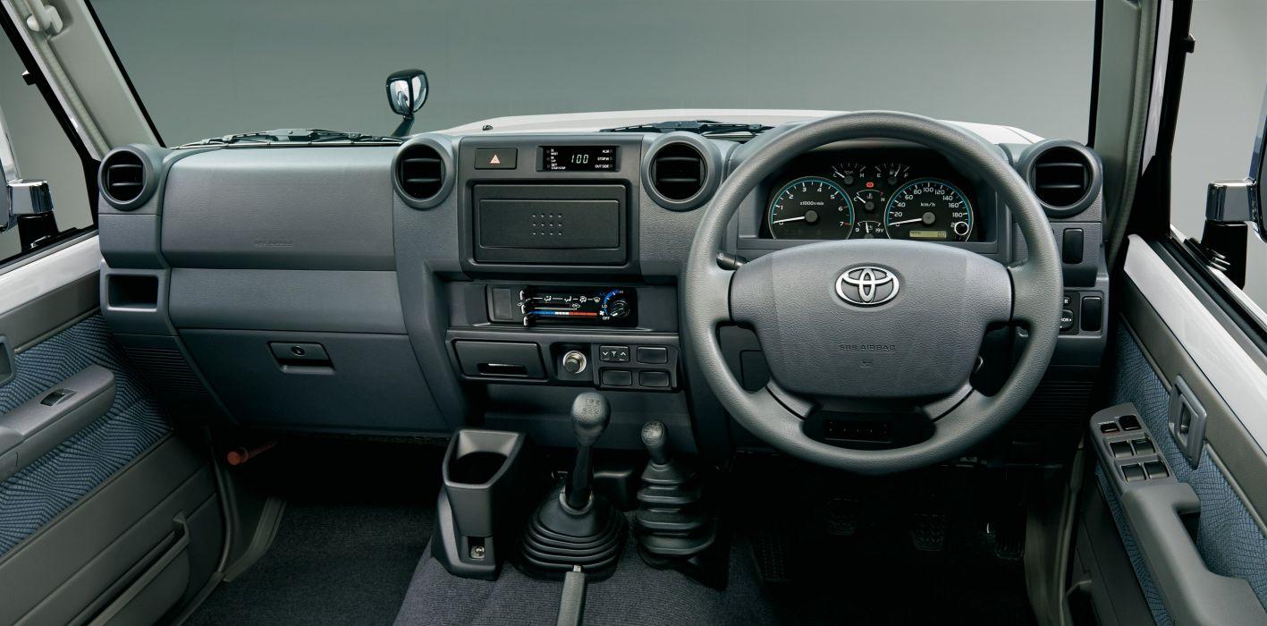 2015 Toyota Land Cruiser Pickup 30th-Anniversary JP-spec (GRJ79K) 4x4 wallpaper