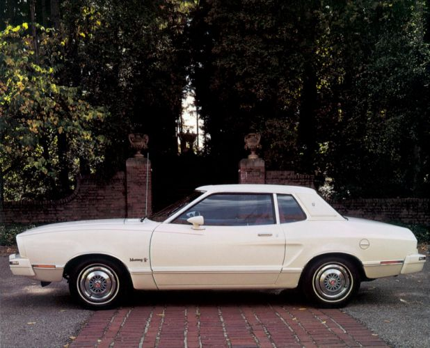 1974 Ford Mustang II Ghia Coupe (60H) classic wallpaper