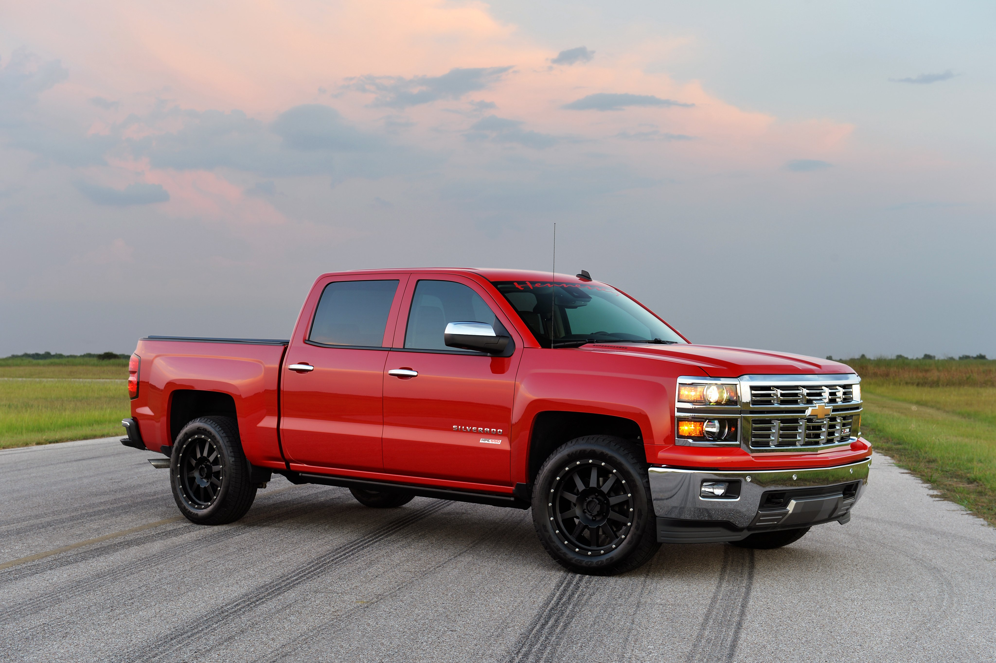 2015 hennessey chevrolet silverado z71 hpe550 pickup muscle tuning wallpaper 4096x2726 461862 wallpaperup