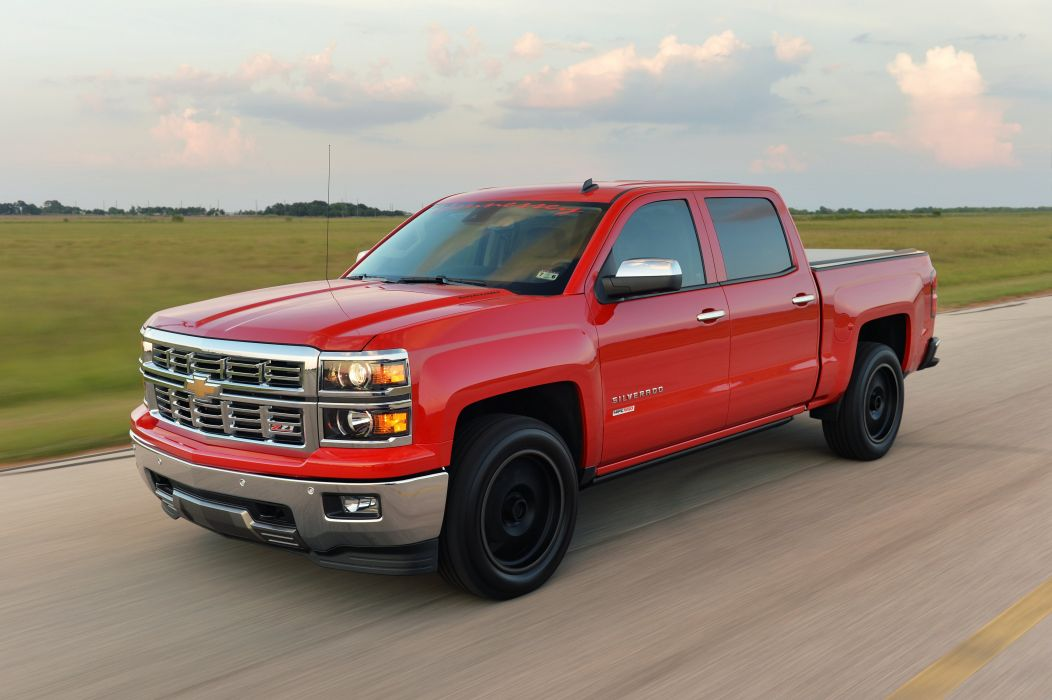 2015 Hennessey Chevrolet Silverado Z71 HPE550 pickup muscle tuning wallpaper