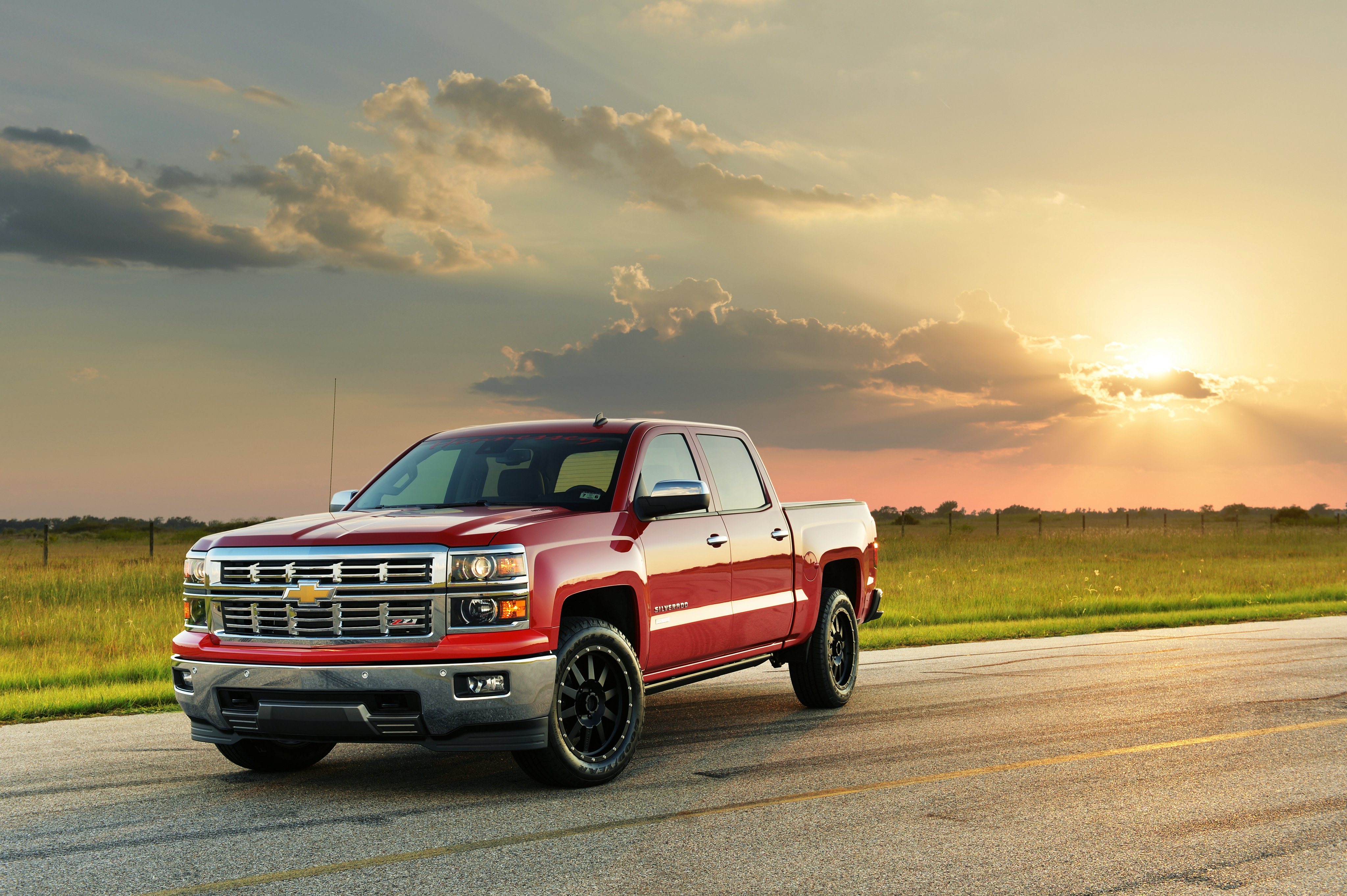 2015 hennessey chevrolet silverado z71 hpe550 pickup muscle tuning wallpaper 4096x2726 461870 wallpaperup