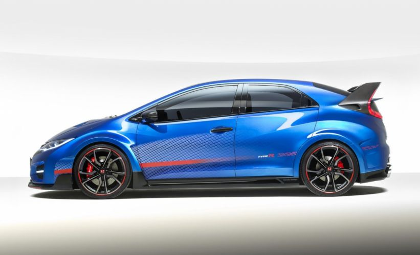 2015 honda Civic Type-R Concept cars wallpaper