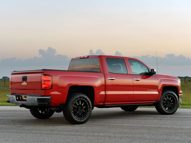2014 Hennessey Chevrolet Silverado HPE550 pick-up supercharger wallpaper