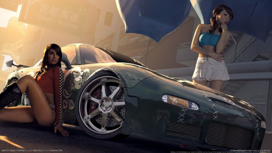 NEED FOR SPEED - girls game wallpaper