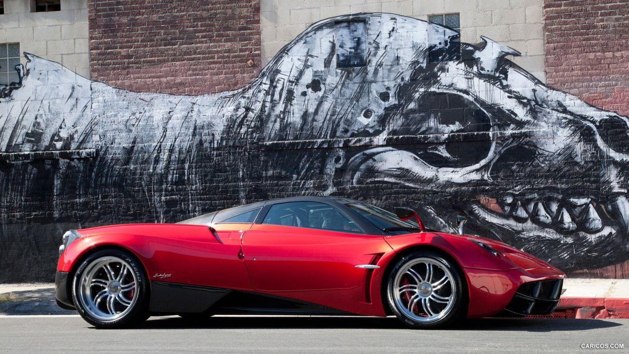2012 Pagani Huayra supercar wallpaper