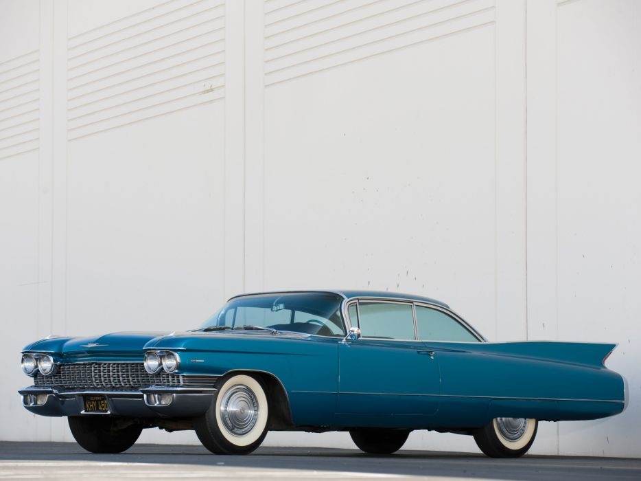 1960 Cadillac Sixty-Two 2-door Hardtop Coupe (6237G) luxury classic wallpaper