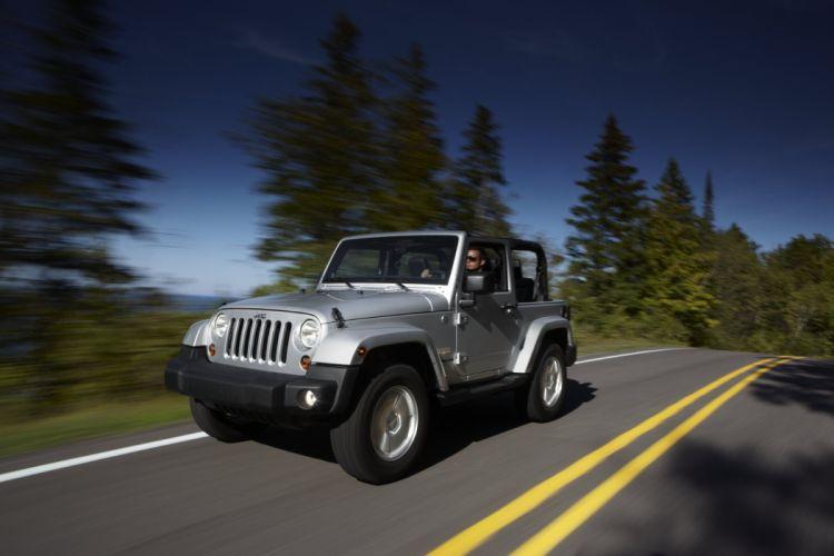 2011 Jeep Wrangler Sahara EU-spec (J-K) 4x4 suv wallpaper