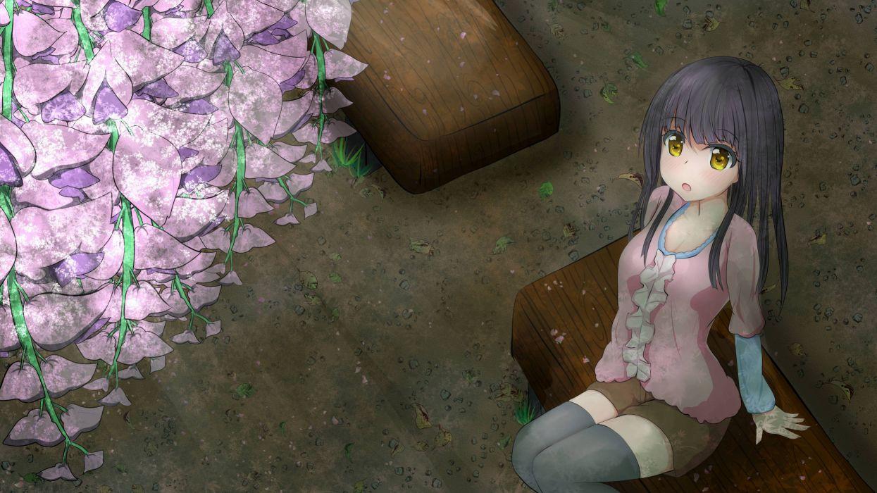 anime girl beautiful smile happy girls wallpaper