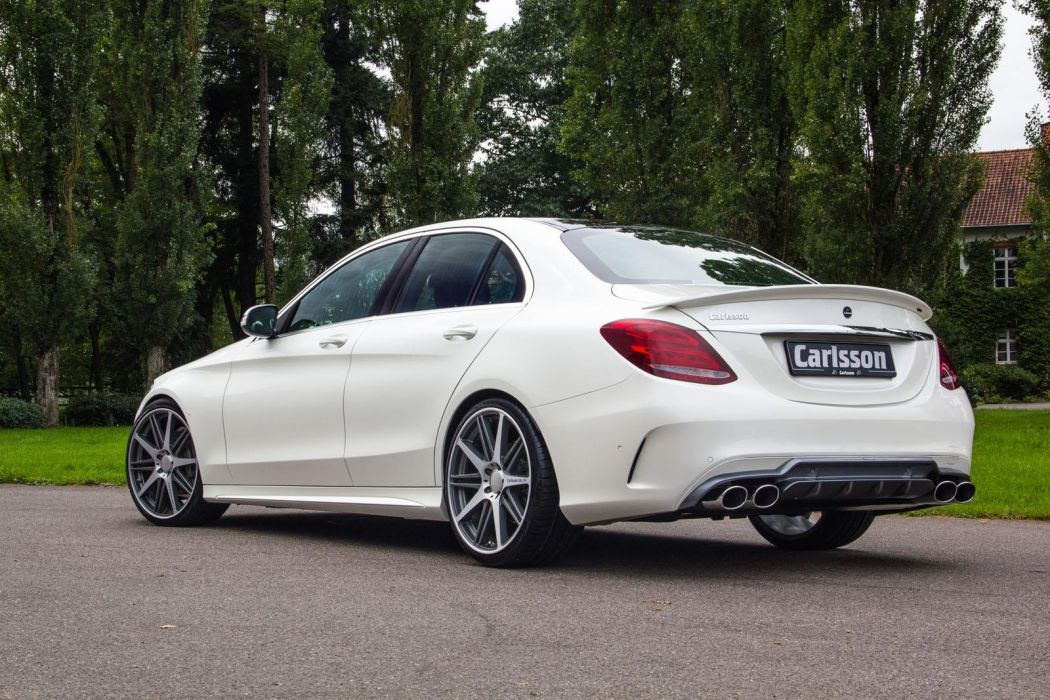 2014 Carlsson Mercedes C-Class AMG tuning wallpaper