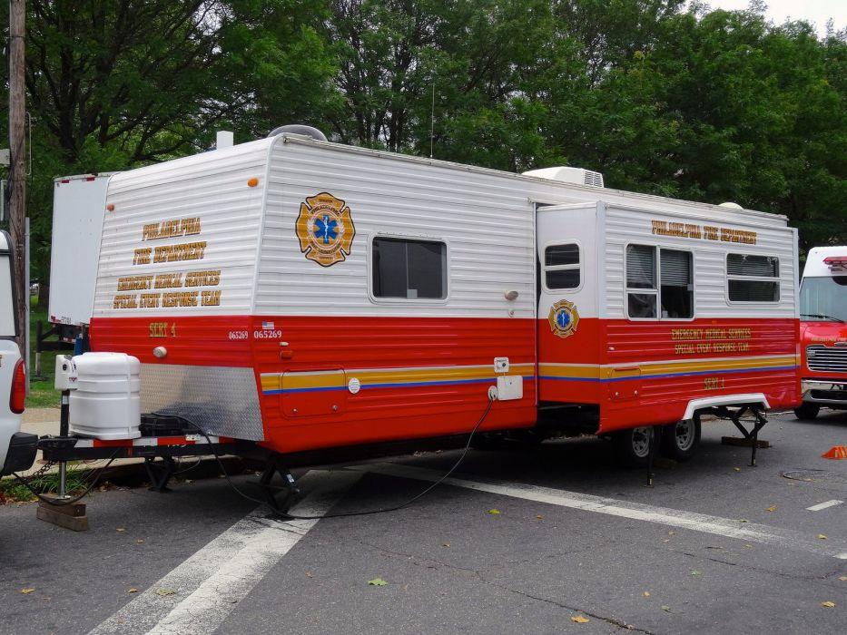 Ambulance fire-truck Philadelphia Fire-Departments usa rescue fire truck suv Emergency medic cars wallpaper