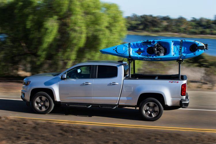 2015 Chevrolet Colorado L-T Double Cab pickup wallpaper