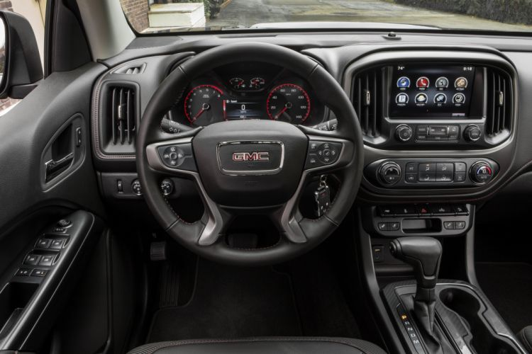 2015 GMC Canyon All Terrain Crew Cab pickup wallpaper