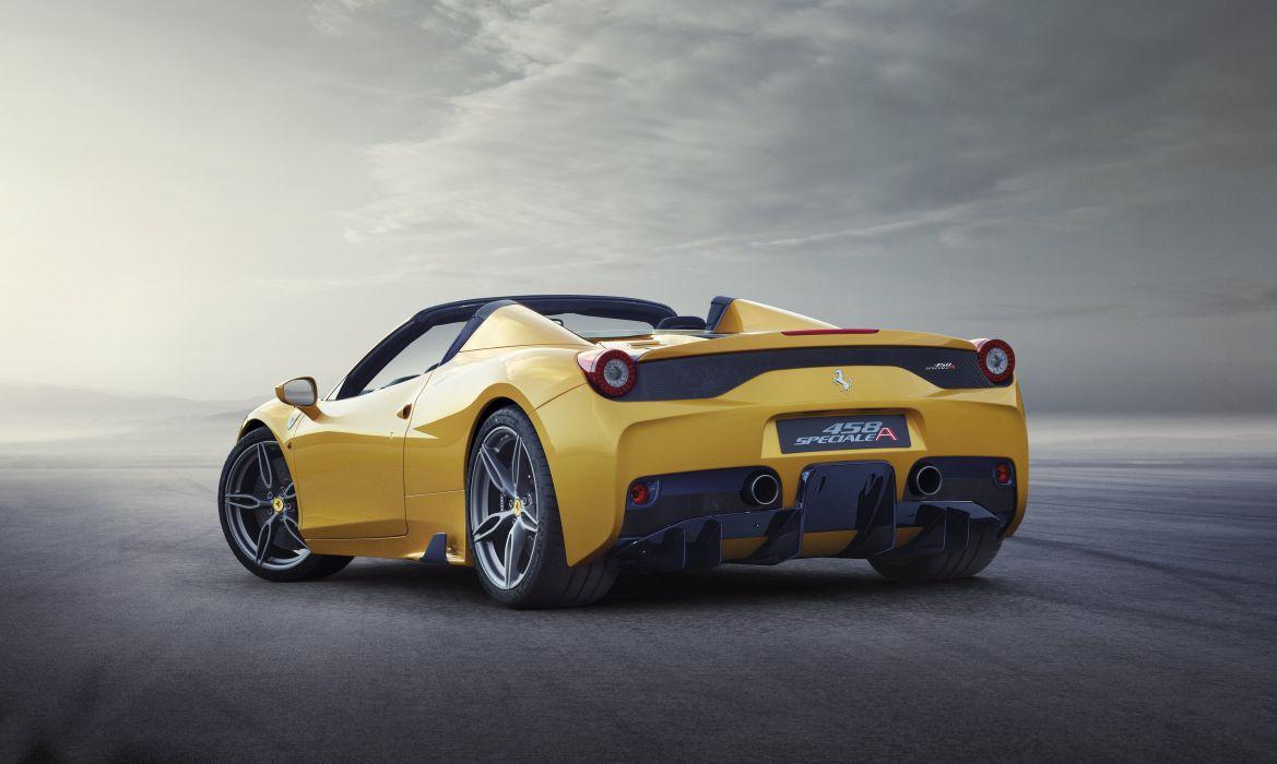 2014 Ferrari 458 Speciale A supercar wallpaper