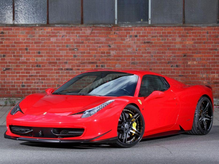2014 MEC-Design Ferrari 458 Spider supercar wallpaper