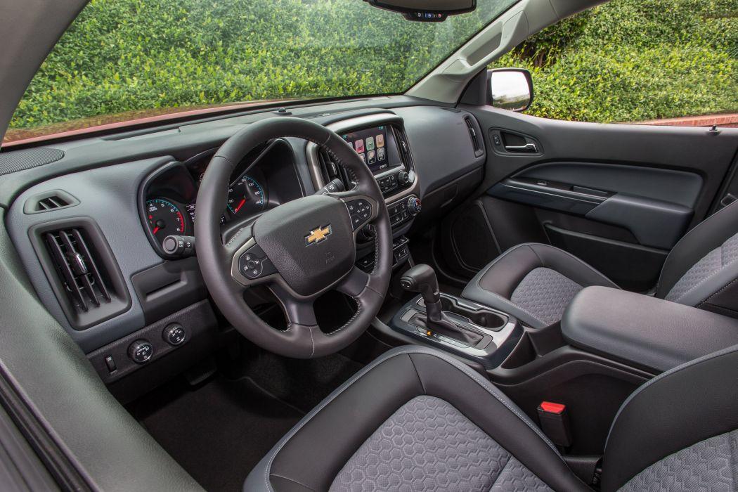 2015 Chevrolet Colorado Z71 Double Cab pickup wallpaper