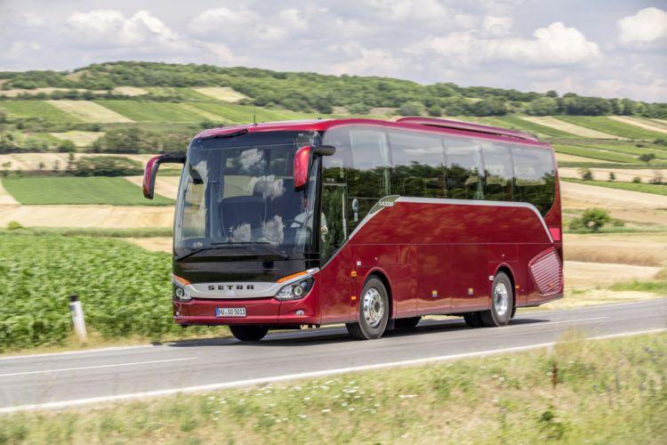 2014 Setra S 511 H-D bus transport wallpaper