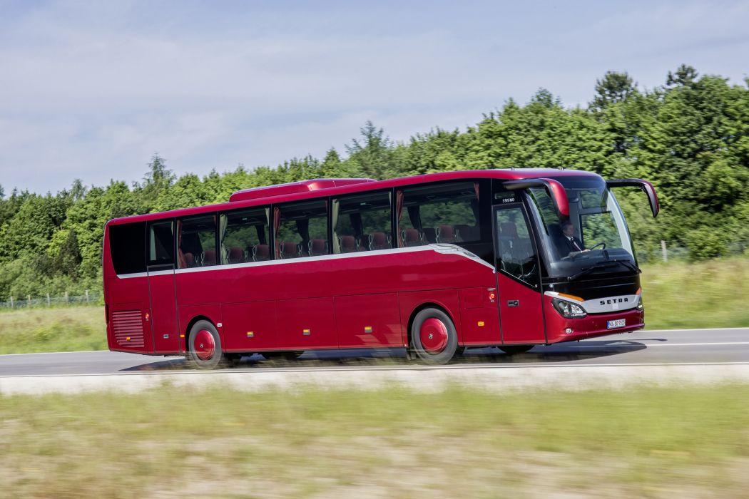 2014 Setra S 515 M-D bus transport wallpaper