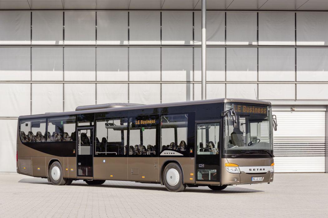 2014 Setra S 416 L-E business bus transport wallpaper