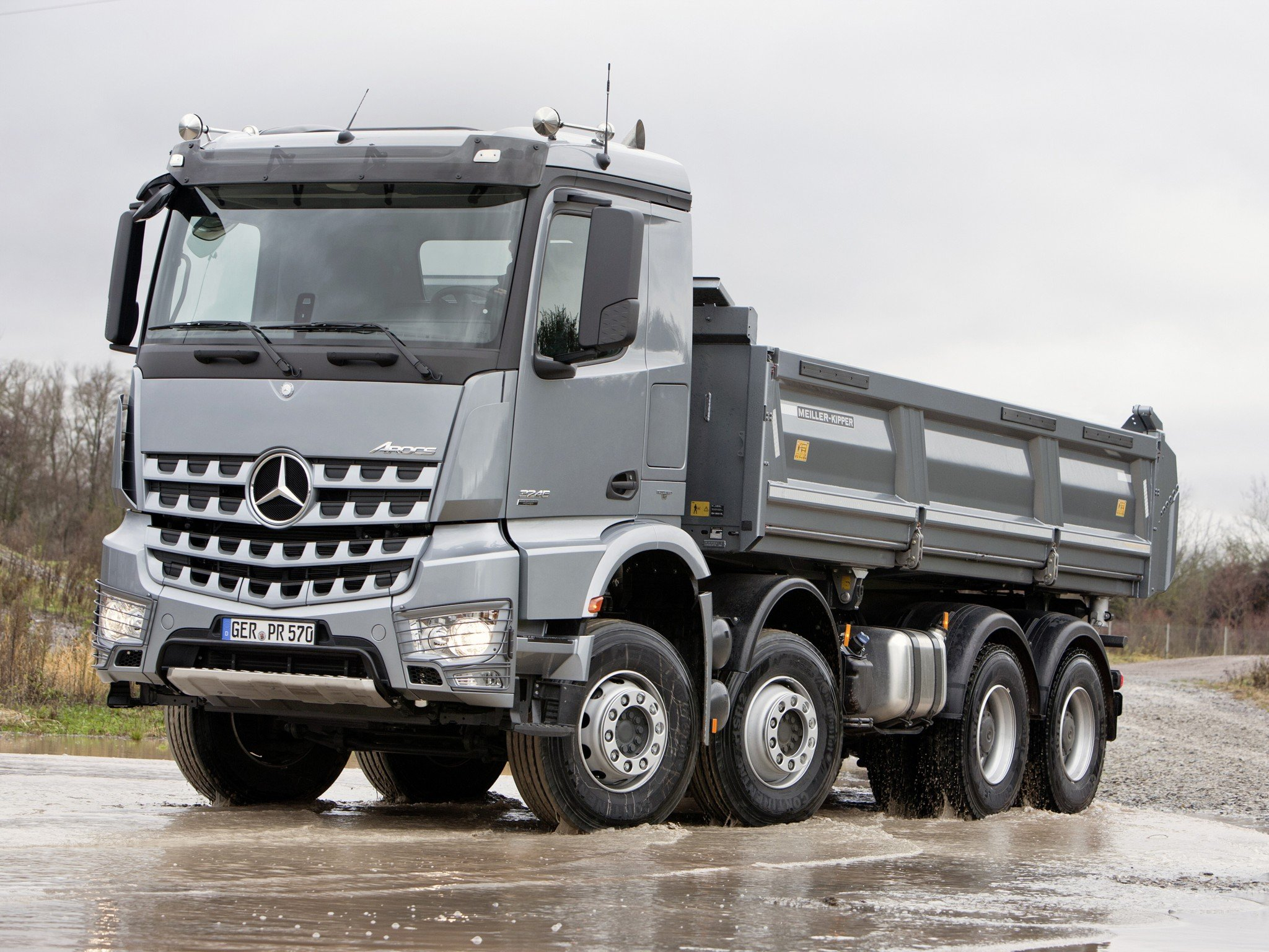 2013 mercedes benz arocs 3245 construction dump semi