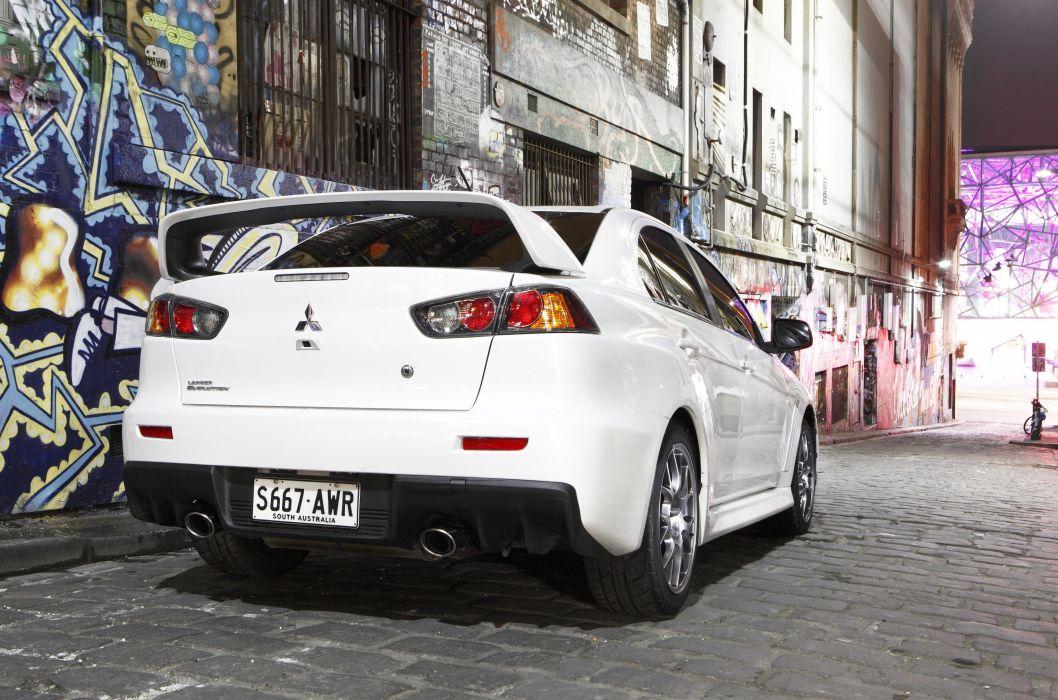 2008 Mitsubishi Lancer Evolution X AU-spec wallpaper