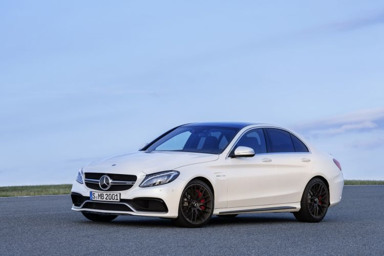 2014 Mercedes Benz AMG C63 S (W205) wallpaper