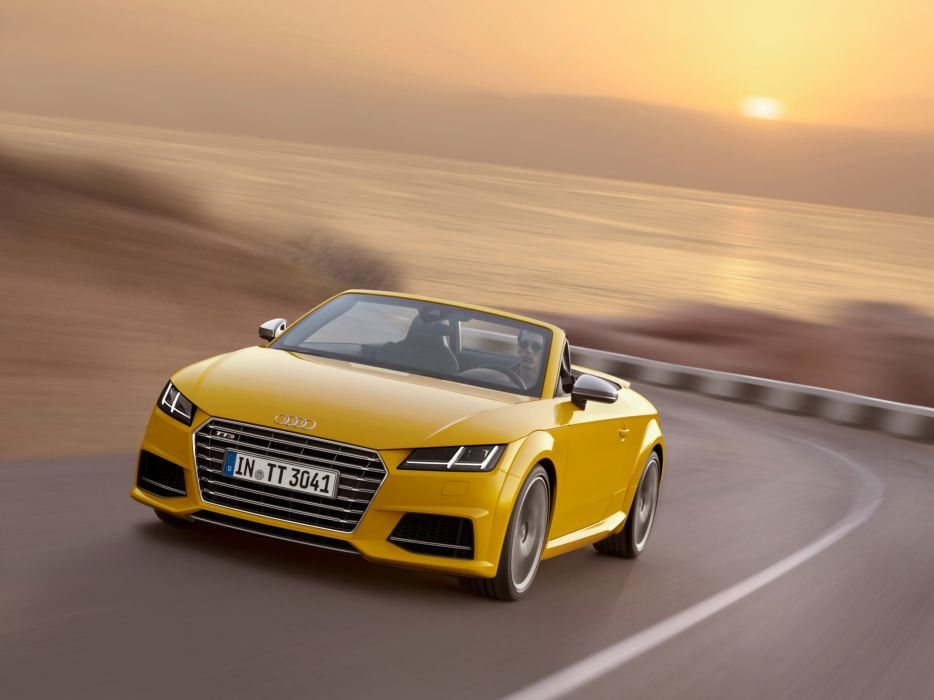 2014 Audi TTS Roadster (8-S) wallpaper