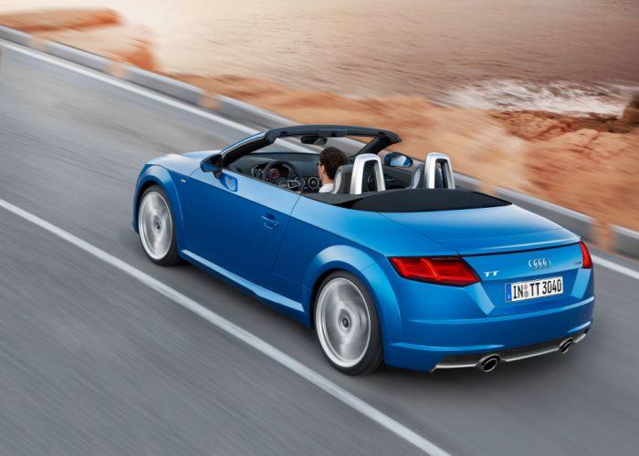 2014 Audi T-T Roadster TFSI quattro S-line (8-S) wallpaper