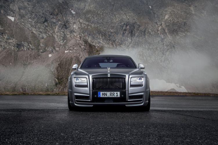2014 Spofec Rolls Royce Ghost luxury wallpaper