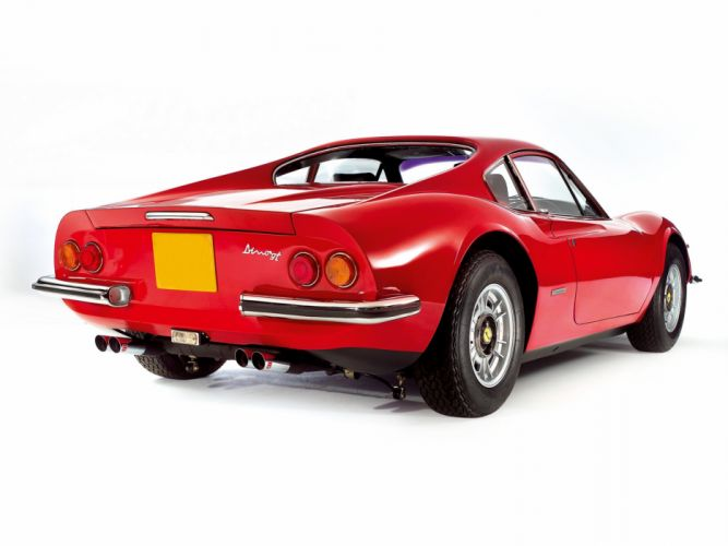 1970-74 Dino 246 G-T UK-spec supercar classic wallpaper