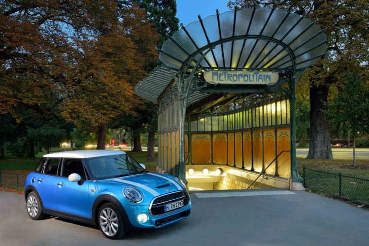 2014 Mini Cooper S-D 5-door (F56) wallpaper