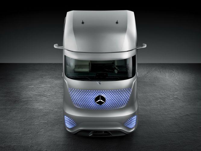 2014 Mercedes Benz Future Truck 2025 semi tractor wallpaper