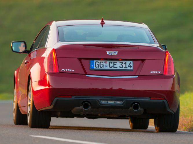 2015 Cadillac ATS Coupe EU-spec luxury wallpaper