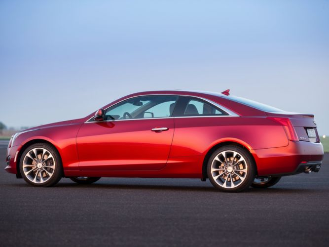 2015 Cadillac ATS Coupe EU-spec luxury wallpaper