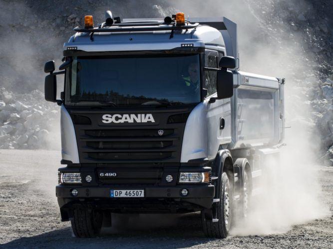 2014 Scania G490 8A wallpaper