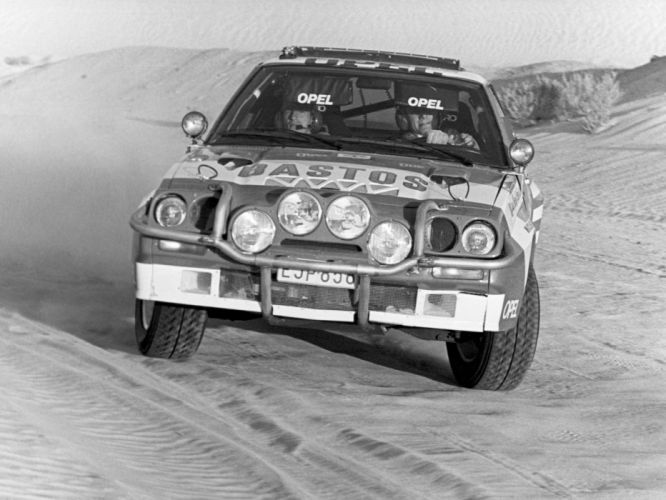 1981-84 Opel Manta 400 Group-B Rally race racing wallpaper