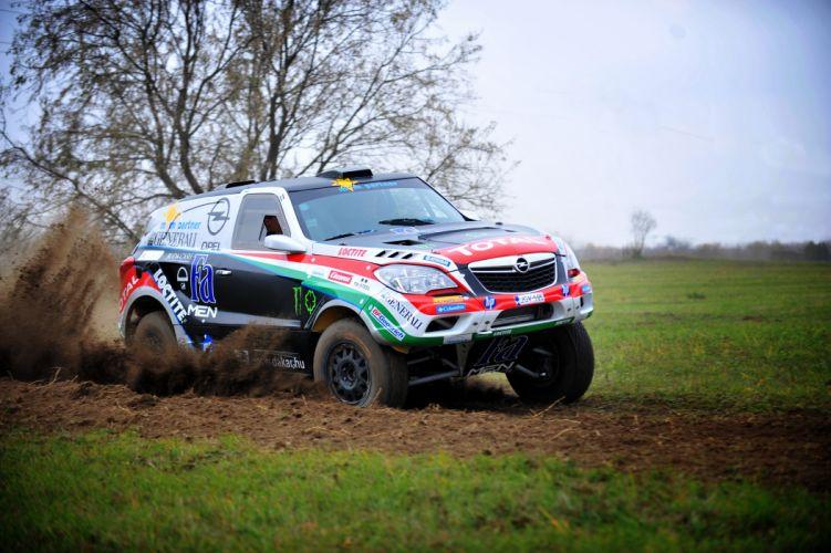 2014 Opel Mokka Dakar suv 4x4 offroad race racing wallpaper