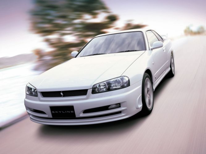 2000-01 Nissan Skyline G-T Turbo Coupe (R34) wallpaper