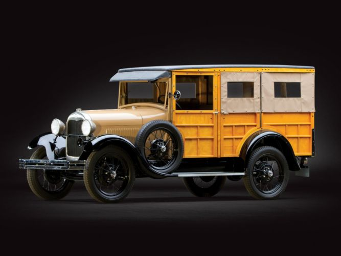 1929 Ford Model-A Woody StationWagon (150D wallpaper